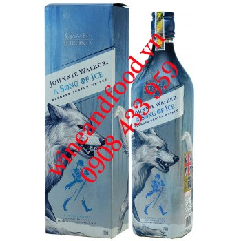 Rượu Johnnie Walker A Song Of Ice Game Of Thrones 750ml