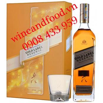 Rượu Johnnie Walker Gold Label hộp quà