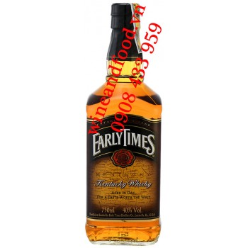 Rượu Kentucky Whisky Early Times 750ml