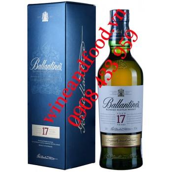 Rượu Whisky Ballantine's Blended 17 năm 70cl