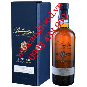 Rượu Whisky Ballantine's Limited Rare Reserve Casks 70cl