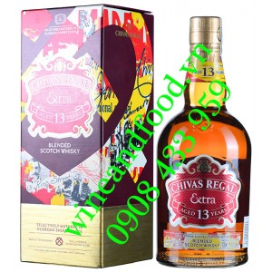 Rượu Whisky Chivas Regal Oloroso Sherry Casks 13 năm 70cl
