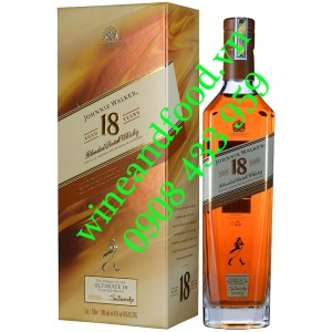 Rượu Whisky Johnnie Walker 18 năm 750ml