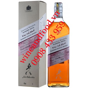 Rượu Whisky Wine Cask Blend Blender's Bach Johnnie Walker 1L