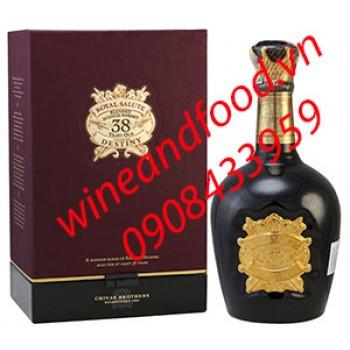 Rượu Whishky Chivas 38 năm Royal Salute Destiny