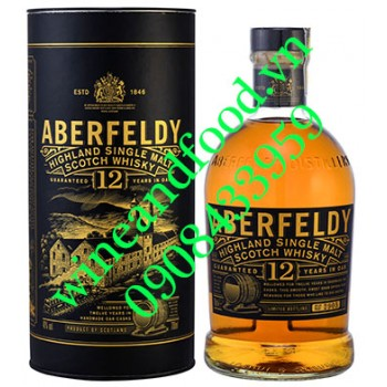 Rượu Whisky Aberfeldy single malt 12 năm