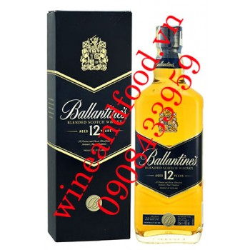 Rượu Whisky Ballantine's 12 năm
