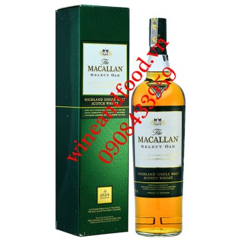 Rượu Whisky The Macallan Select Oat 1l