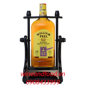 Rượu Whisky William Peel 2l