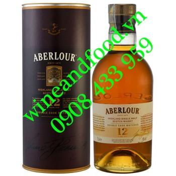 Rượu Whisky Aberlour 12 năm Single Malt 70cl