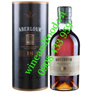 Rượu Whisky Aberlour 18 năm Single Malt 70cl