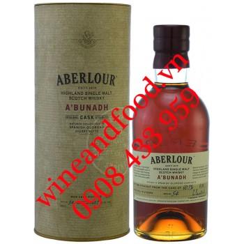 Rượu Whisky Aberlour A'bunadh Original single malt 700ml