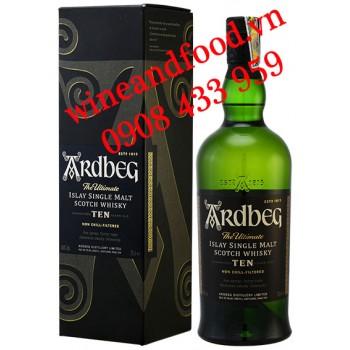 Rượu Whisky Ardbeg Single Malt 10 năm