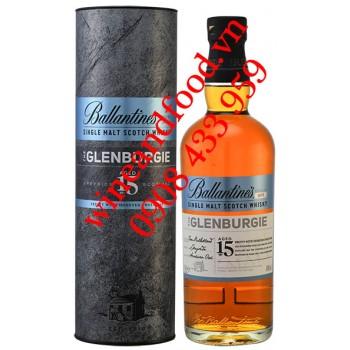 Rượu Whisky Ballantine's The Glenburgie Single Malt 15 năm Series No 001