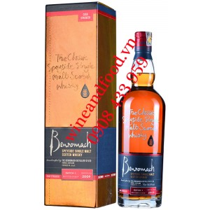 Rượu Whisky Benromach Speyside Single Malt 70cl
