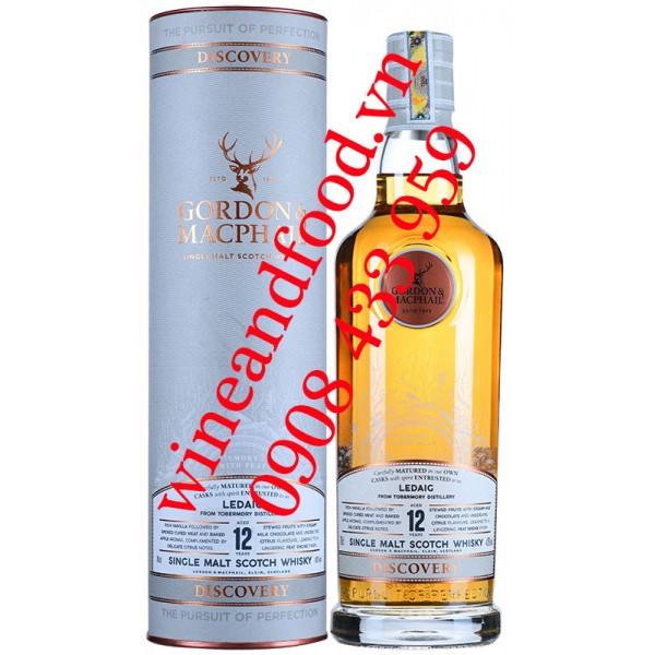 Rượu Whisky Gordon & Macphail Discovery Single Malt 12 năm
