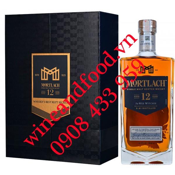 Rượu Whisky Mortlach 12 năm Single Malt hộp quà
