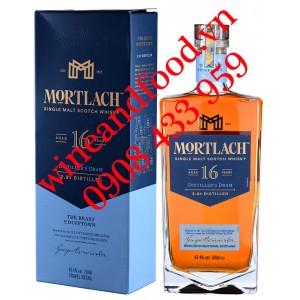 Rượu Whisky Mortlach Single Malt 16 năm 700ml