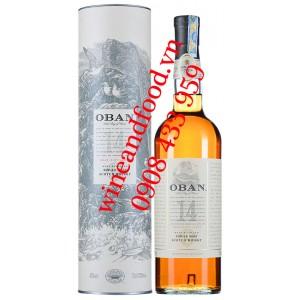 Rượu Whisky Oban 14 năm Single Malt 70cl
