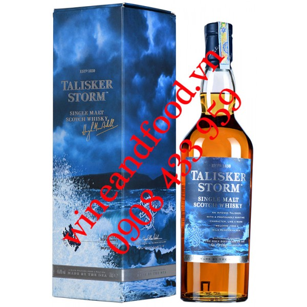 Rượu Whisky Talisker Storm Single Malt 70cl