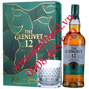 Rượu Whisky The Glenlivet 12 năm Single Malt hộp quà