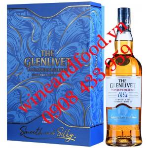 Rượu Whisky The Glenlivet Founder's Reserve single malt hộp quà
