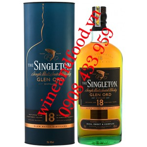 Rượu Whisky The Singeton Glen Ord 18 năm Single Malt 70cl