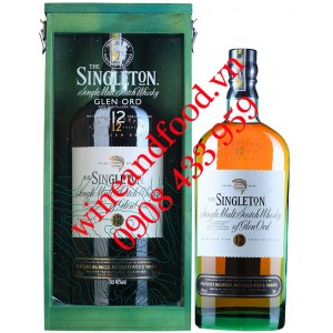 Rượu Whisky The Singleton Glen Ord Single Malt hộp quà 12 năm
