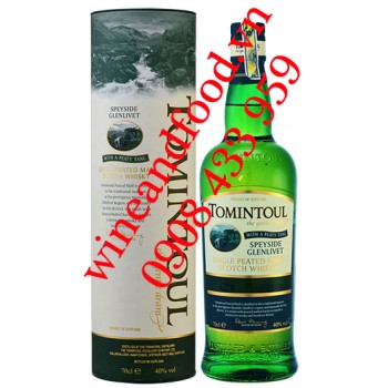 Rượu Whisky Tomintoul Peaty Tang Single Malt 70cl