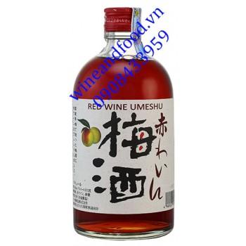 Rượu mơ Nhật Bản Red Wine Umeshu 500ml