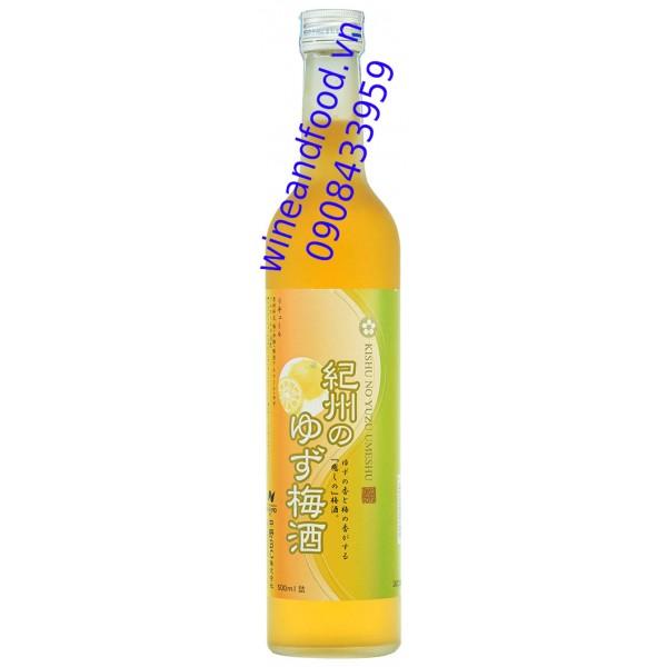 Rượu mơ Yuzu plum Sake 10% 500ml