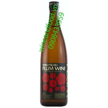 Rượu Plum wine Hakutsuru 750ml