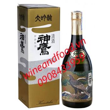 Rượu Sake Daiginjo Kamitaka 720ml