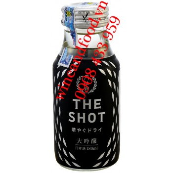 Rượu Sake Gekkeikan The Shot Dry Daiginjo 180ml
