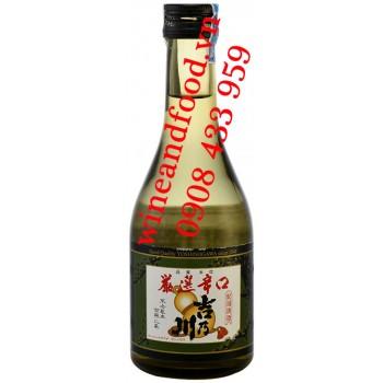 Rượu Sake Gensenkarakuchi Yoshinogawa 300ml