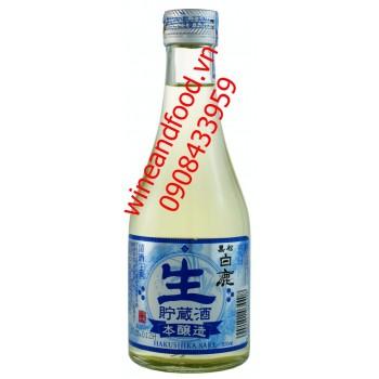 Rượu Sake Hakushika Josen Honjyozo 300ml