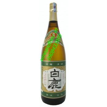 Rượu sake Kasen Hakushika 1l8