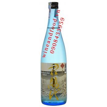 Rượu Sake Kimibandai vảy vàng 720ml