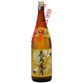 Rượu Sake Nhật Bản Hokkan Kachofugetsu 1,8L