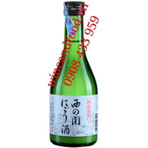 Rượu Sake Nishinoseki Nigorizake 300ml