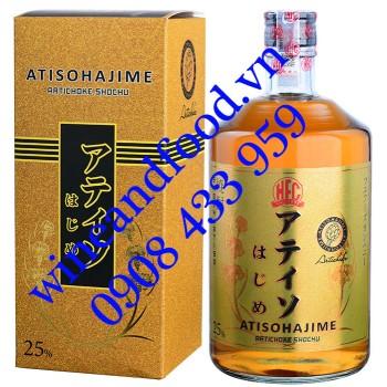 Rượu Shochu Artichoke Atisohajime HFC 750ml