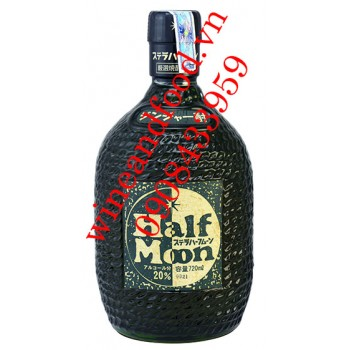 Rượu Shochu Gừng Half Moon 720ml