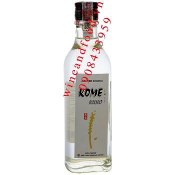 Rượu Shochu Kome Kuro 300ml