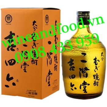 Rượu Shochu Mugi Nikaido Kichom 720ml
