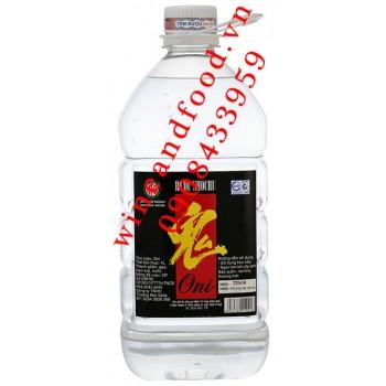 Rượu Shochu Oni 4l