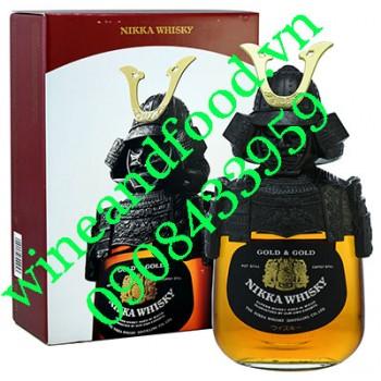 Rượu Whisky Nikka Samurai Gold & Gold 750ml