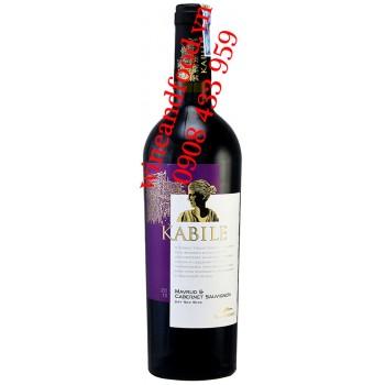 Rượu vang Kabile Mavrud Cabernet Sauvignon Villa Yambol 750ml