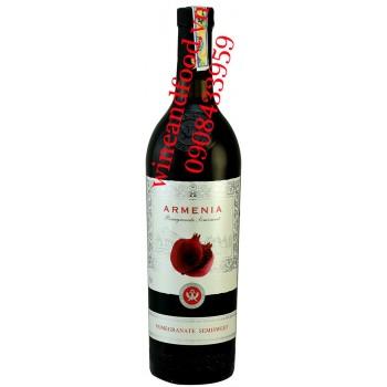 Rượu vang lựu Armenia 750ml