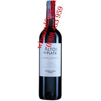 Rượu vang Altos Del Plata Terrazas Cabernet Sauvignon 750ml
