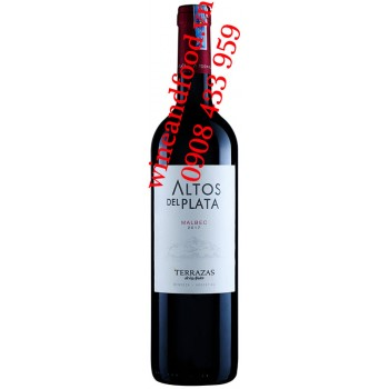 Rượu vang Altos Del Plata Terrazas Malbec 750ml